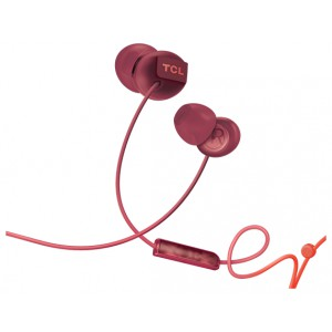 Наушники TCL In-ear Wired Headset, Frequency of response: 10-23K, Sensitivity: 104 dB, Driver Size: 8.6mm, Impedence: 28 Ohm, Acoustic system: closed, Max power input: 25mW, Connectivity type: 3.5mm jack, Color Ocean Blue