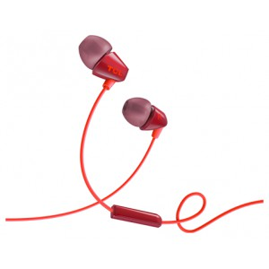 Наушники TCL In-ear Wired Headset ,Frequency of response: 10-22K, Sensitivity: 105 dB, Driver Size: 8.6mm, Impedence: 16 Ohm, Acoustic system: closed, Max power input: 20mW, Connectivity type: 3.5mm jack, Color Phantom Black