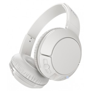 Наушники TCL On-Ear Bluetooth Headset, Strong BASS, flat fold, Frequency: 10-22K, Sensitivity: 102 dB, Driver Size: 32mm, Impedence: 32 Ohm, Acoustic system: closed, Max power input: 30mW, Connectivity type: Bluetooth only (BT 4.2), Color Ash White